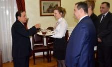 Састанак Дачића са новоименованим амбасадором Мјанмара