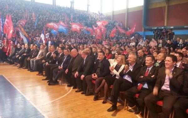 Представници коалиције СПС-ЈС обишли су југ Србије- Врање и Лесковац