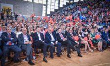Предизборни скуп у Врању