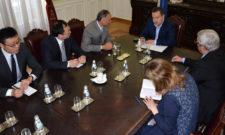 Састанак министра Дачића са амбасадором Кине Ли Манчангом