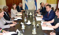 Састанак Дачића са председником Националне скупштине Републике Кубе