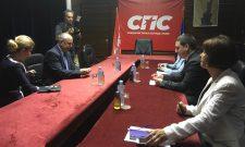 Виктор Боштинару у званичној посети Социјалистичкој партији Србије