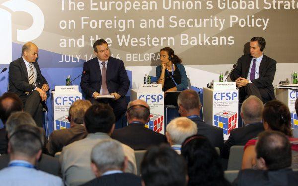 """Dačić učestvovao na konferenciji """"Globalna strategija spoljne i bezbednosne politike Evropske unije i Zapadni Balkan"""""""
