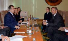 Министри Дачић и Ерјавец констатовали да се билатерални односи развијају у свим сегментима