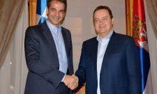 Дачић разговарао са председником грчке странке Нова Демократија Кирјакосом Мицотакисом