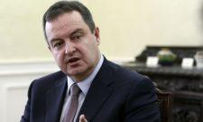 Дачић: Непримерен састанак лидера СДА Угљанина са Тачијем