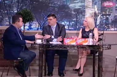 Gostovanje Ivice Dačića u Jutarnjem programu TV Pink