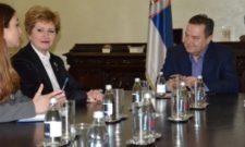 Дачић са државним секретаром Министарства унутрашњих послова Грчке