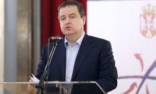 Reagovanje prvog potpredsednika Vlade Srbije i ministra inostranih poslova Ivice Dačića
