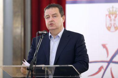 Реаговање првог потпредседника Владе Србије и министра иностраних послова Ивице Дачића