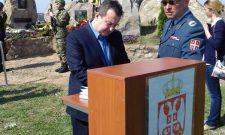 Дачић: Морамо чувати сећање на све оне који су бранили нашу земљу