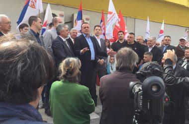 Antić u Vrčinu: Građani će 2. aprila dokazati da žele najjačeg na čelu naše države