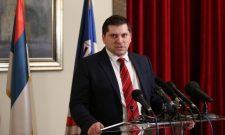 Председник Скупштине града Београда Никола Никодијевић за Танјуг