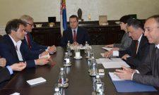 Дачић са делегацијом Европског савета за спољне послове