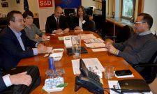 Дачић разговарао с председником Прогресивне алијансе социјалиста и демократа у Европском парламенту