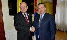 Ministar Dačić razgovarao sa predsednikom Parlamenta Kraljevine Švedske