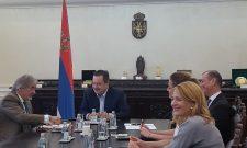 Министар Дачић и амбасадор Гаспарич о билатералним односима Србије и Словеније