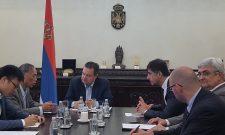Дачић разговарао са амбасадором Ли Манчангом