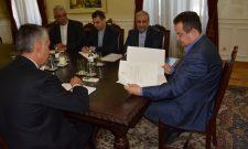 Дачић и амбасадор Абдолахи о јачању билатералног политичког дијалога Србије и Ирана