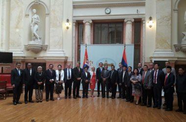 Потпредседник Народне скупштине Ђорђе Милићевић и чланови ПГП са Индонезијом састали се са делегацијом парламента Индонезије
