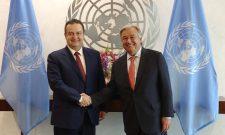 Изјава министра Дачића о седници Савета безбедности УН-а и сусрету са генералним секретарем УН-а Антониом Гутерешом