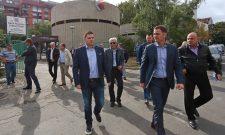 Никодијевић и Мали обишли радове на Бановом брду и најавили ефикасно и стабилно грејање у Београду