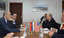 Ружић и Триван са државним секретаром Мериленда