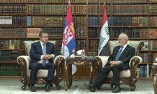 Dačić: Šefovi diplomatija Srbije i Iraka o unapređenju ekonomske, obrazovne i kulturne saradnje