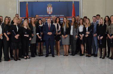 Svečana dodela diploma polaznicima Diplomatske akademije školske 2016/17. godine