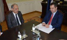 Ивица Дачић са амбасадором Грчке
