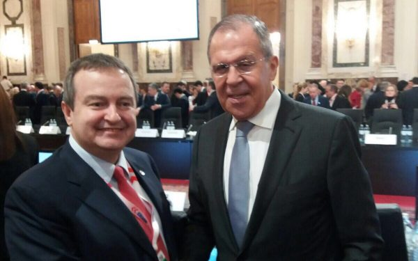 Ivica Dačić sa Sergejom Lavrovim o proslavi 180. godišnjice diplomatskih odnosa Rusije i Srbije