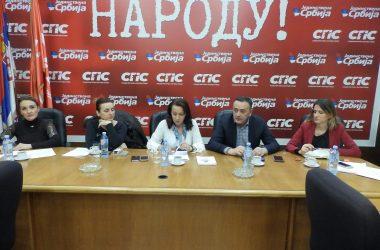 Седница Председништва ФОЖ: Социјалисткиње су срцем за Београд