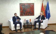 Ivica Dačić i premijer Crne Gore složili se da su odnosi dve zemlje na izuzetno visokom nivou