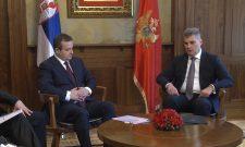 Ivica Dačić i predsednik Skupštine Crne Gore o evrointegracijama dve zemlje
