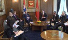Ivica Dačić razgovarao sa predsednikom Crne Gore