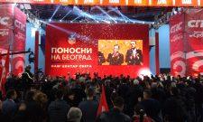 Конвенција коалиције СПС-ЈС: Поносни смо на Београд, наш центар света!