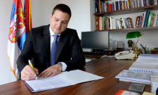 Ružić zaključio Jedinstveni birački spisak za izbore u Beogradau, Aranđelovcu, Boru i Sevojnu