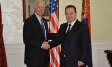 Dačić razgovarao sa američkim senatorom Ronom Džonsonom
