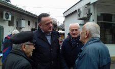 Антић са пензионерима Врачара: Амбијент у коме пружамо бригу – нашим најстаријим суграђанима