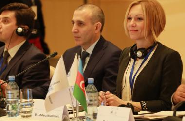 Стефана Миладиновић на Међународној конференцији о улози парламентараца у јачању економске сарадње и културних веза у Бакуу