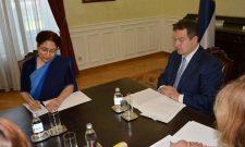 Дачић и амбасадорка Чаухан о предстојећој посети Индији шефа српске дипломатије