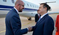 Дачић дочекао премијера Белгије