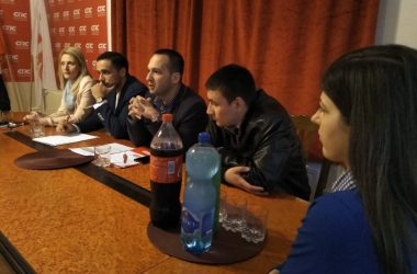 Угљеша Марковић, председник Социјалистичке омладине Србије у Краљеву