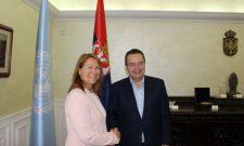 Дачић разговарао са извршним директором Канцеларије УН за пројектне услуге