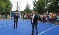 Никодијевић: Отворен обновљени терен у Блоку 70