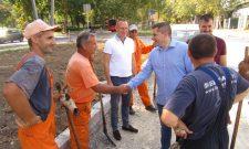 Nikodijević: Kraj radova u Bulevaru oslobođenja početkom septembra