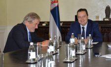 Dačić primio u oproštajnu posetu ambasadora Slovenije