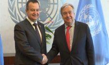 Дачић и генерални секретар Уједињених нација о ситуацији на Косову и Метохији и значају улоге УНМИК-а