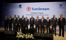 Антић на церемонији завршетка морске деонице Турског тока у Истанбулу