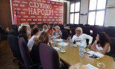 Održana Treća sednica Foruma žena Socijalističke partije Srbije